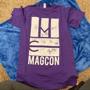 Magcon Shirt with Autographs